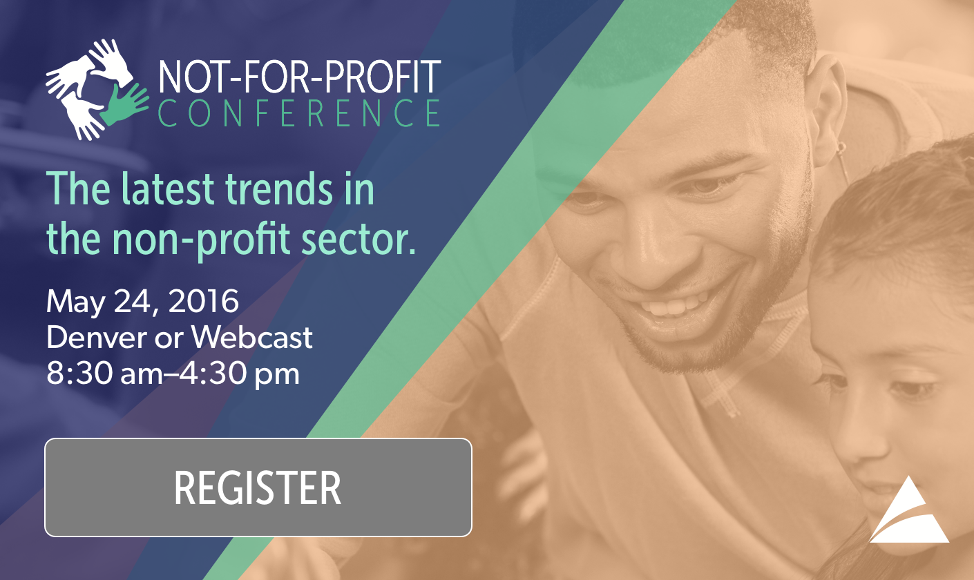 2016 Not-For-Profit Conference