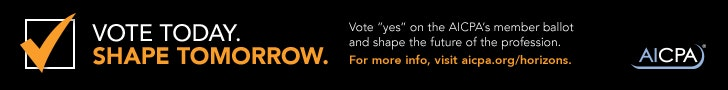 AICPA CIMA Joint Venture - Get educated. Form your opinion. Vote.