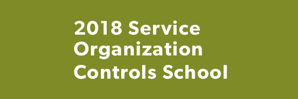 2018 AICPA SOC for Service Organizations School