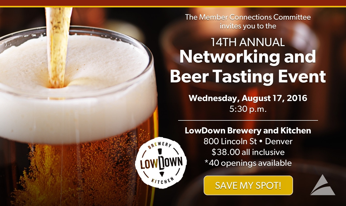 COCPA 14th Annual Networking and Beer Tasting Event