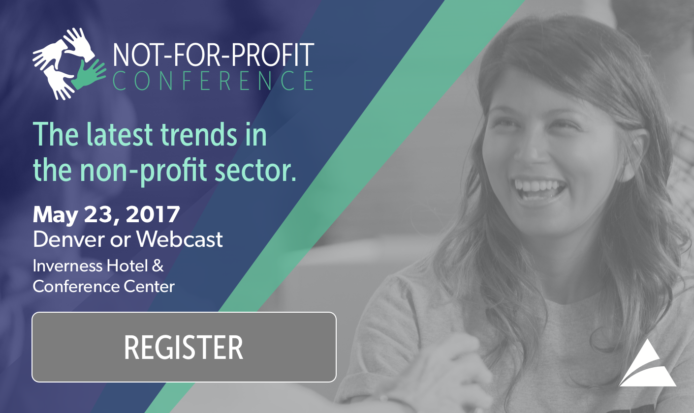2017 Not-for-Profit Conference