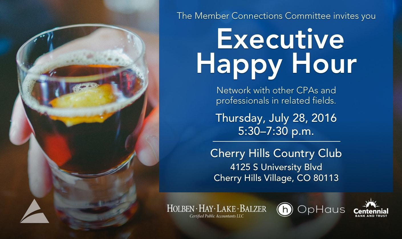 Executive Happy Hour