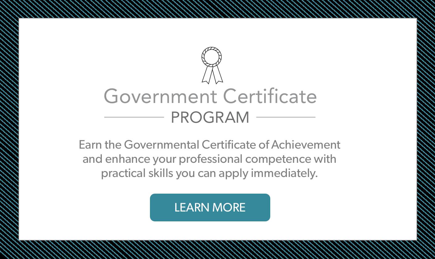 Governmental Certificate