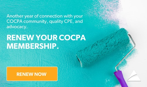 Renew Your COCPA Membership Today