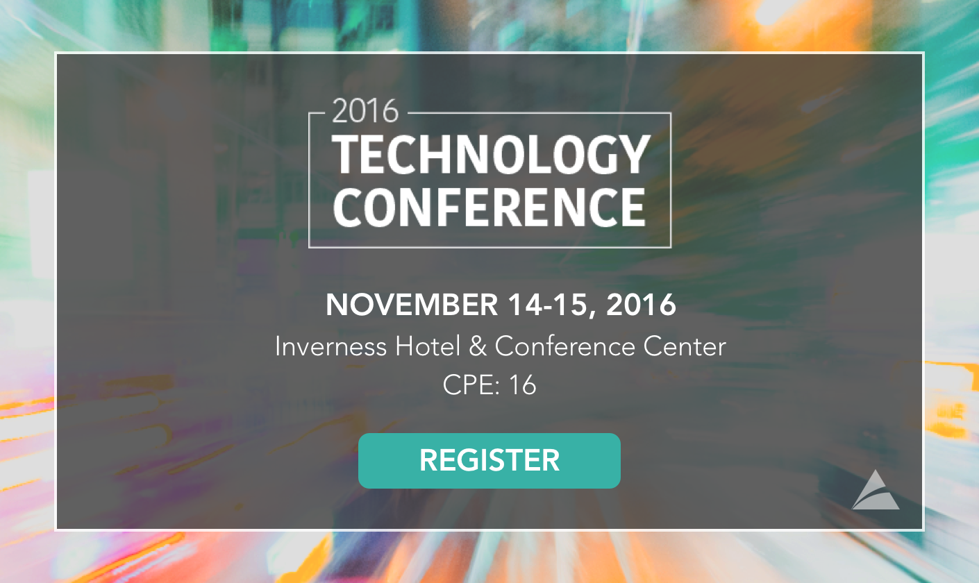 2016 Technology Conference