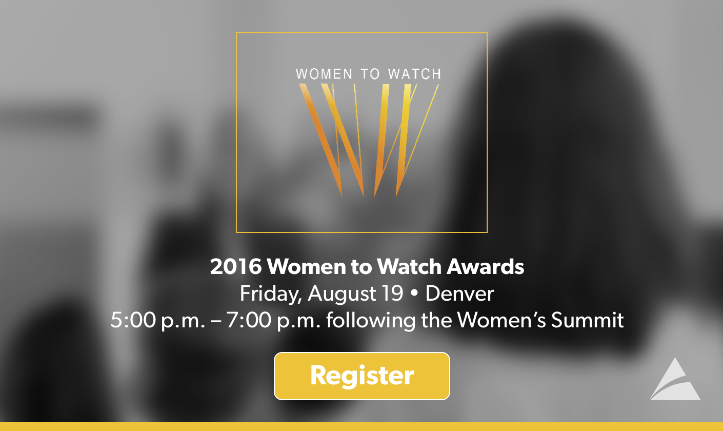 2016 Women to Watch Awards