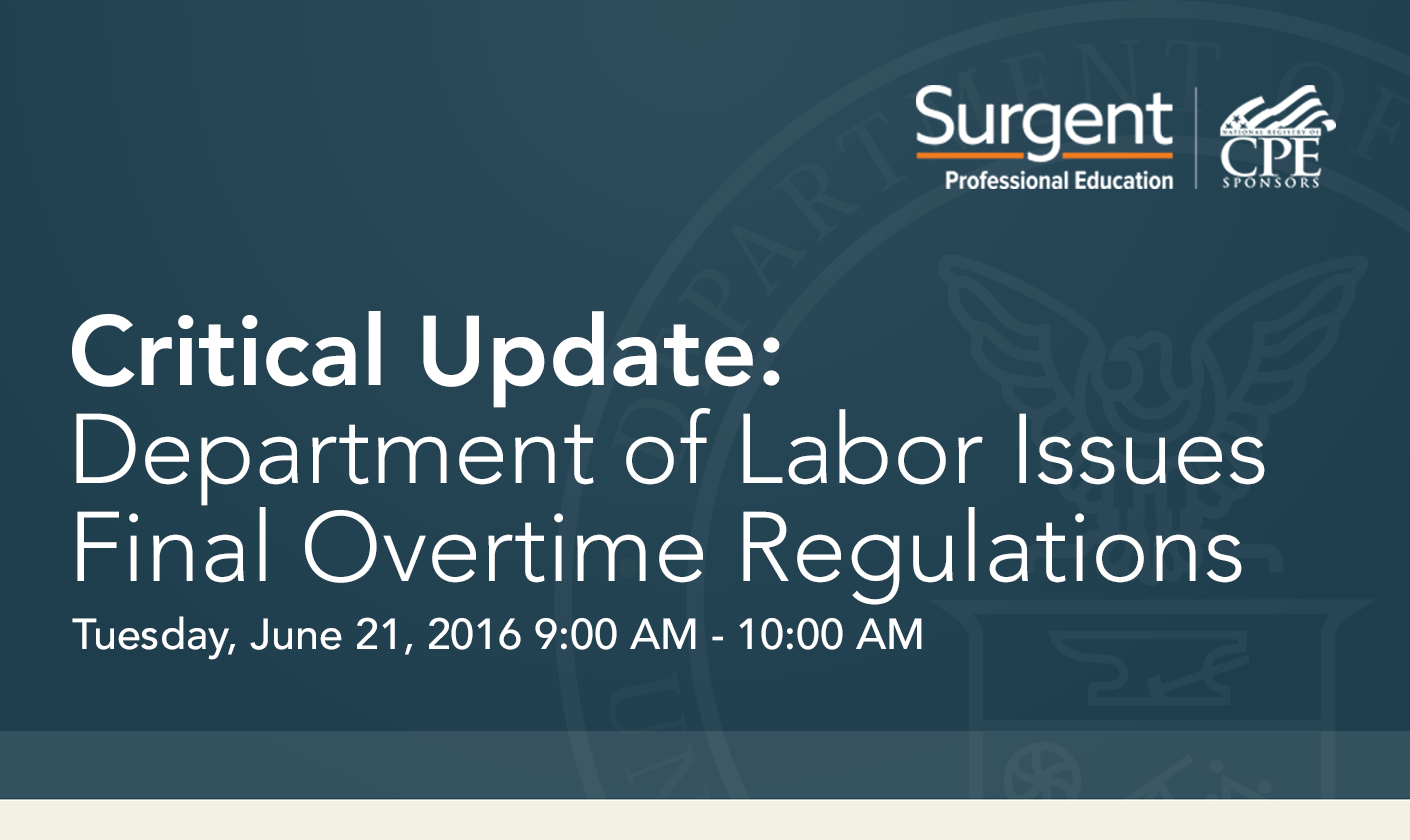 DOL Issues Update