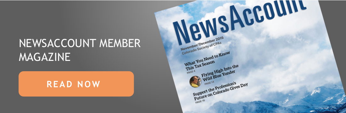 2016 November/December NewsAccount
