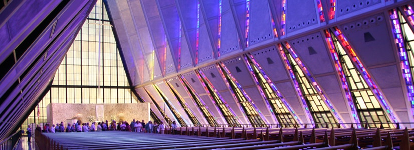United States Air Force Academy Cadet Chapel, Colorado Springs