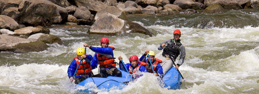 White Water Rafting near Cañon City, Colorado